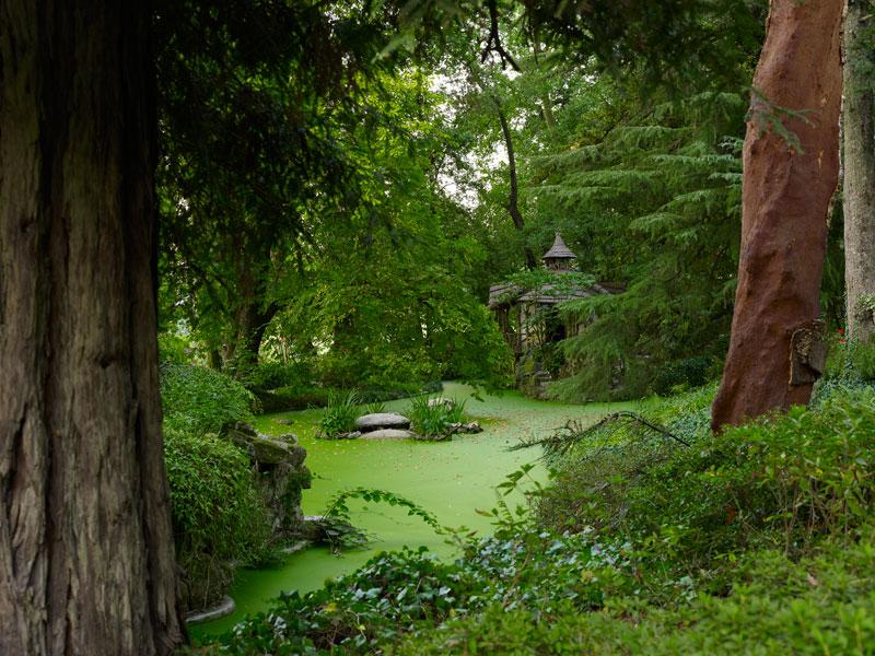 Os famosos jardins da Aveleda